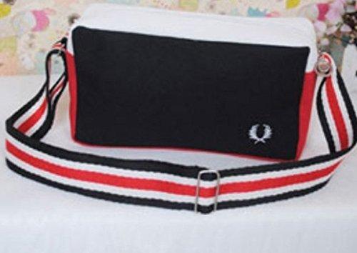Maison De Decoration©Designer corps Sport Sac océan Style Messenger Bag Cross Pour Femme & Homme (Noir)