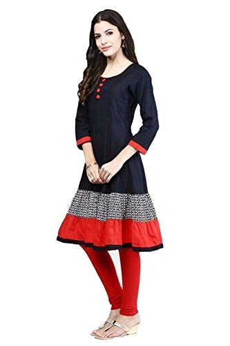 Jashvi-Creation-Choice-Womens-Cotton-Stitched-Anarkali-Kurti