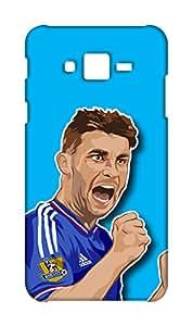 Chelsea Football Club Design - Samsung Galaxy J2 2015 Mobile Hard Case Back Cover - Printed Designer Cover for Samsung Galaxy J2 2015 - SGJ2CFCB150