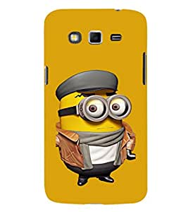 EPICCASE Suited Minion Mobile Back Case Cover For Samsung Galaxy Grand Neo Plus (Designer Case)