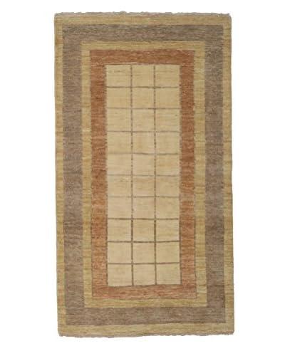 Darya Rugs Modern Oriental Rug, Brown, 3' 5 x 6' 1