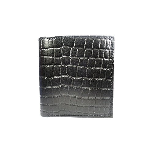 Rasso Leather Black Mens wallet