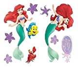 Blue Mountain Wallcoverings GAPP1816 Little Mermaid Self-Stick Room Appliqués