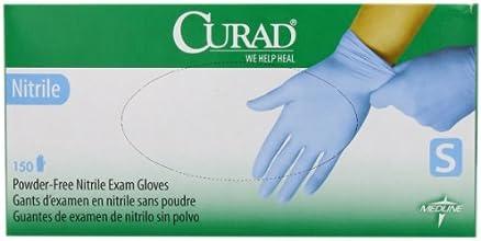 Curad Powder-Free Nitrile Small 150 Count