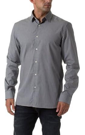 Jack & Jones Herren Langarmhemd Hemd by J&J Jeans 2012 Star MOD 9042 schwarz D.G