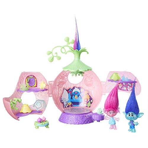 Trolls DreamWorks Poppy's Coronation Pod Playset by Trolls