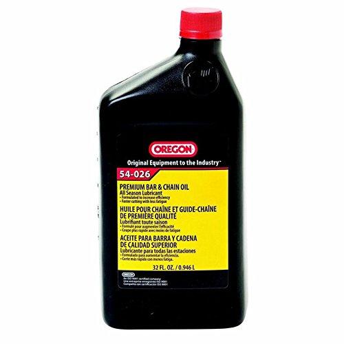 Chain Saw Oil : Oregon chain saw bar and oil quart pump