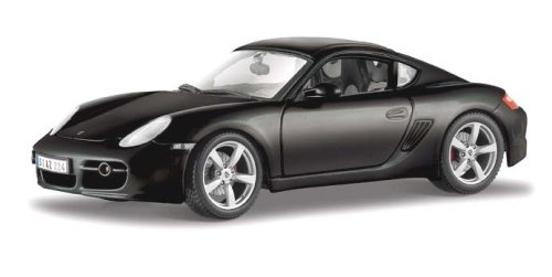 Diecast Model Porsche Cayman S in Black (1:18 scale)