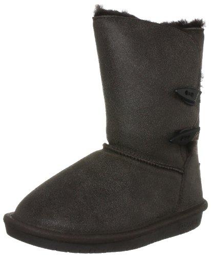 Bearpaw Women's Abigail Vintage Chocolate Fur Trimmed Boot 1320W 7 UK