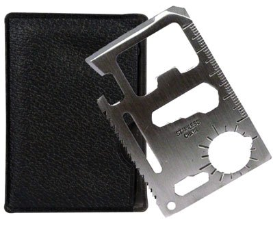 SE MT908 11 Function Credit Card Size Survival Pocket Tool