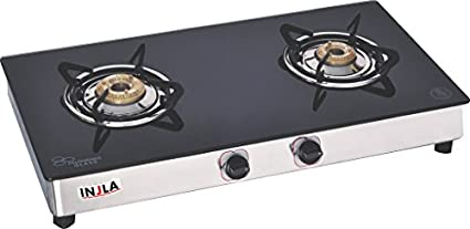 Injla-P-210-GT-Stainless-Steel-Gas-Cooktop-(2-Burner)