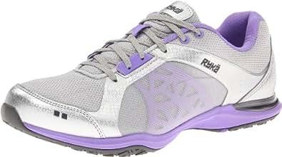 RYKA Women's Exertion Shoe,Grey/Light Purple/Dark Grey,6 M US