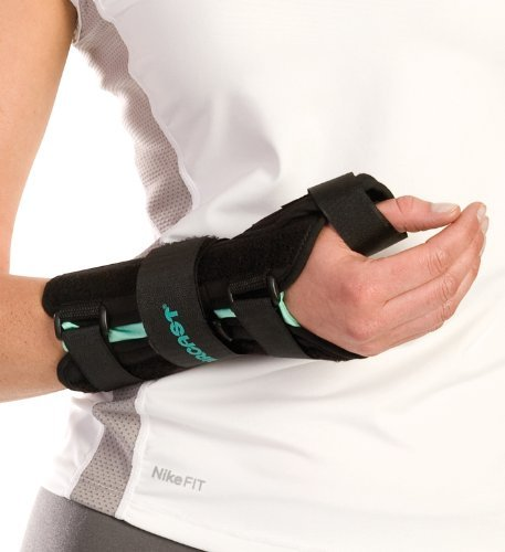 Aircast A2 Wrist Brace With Thumb Spica-Left-Large 05Wtll