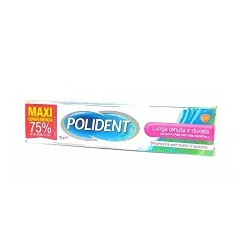Polident Lunga Tenuta E Durata Adesivo Per Protesi Dentali 70 gr