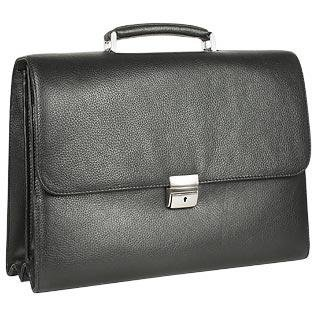 Tavecchi Men's Black Italian Multi-compartment Briefcase - Buy Tavecchi Men's Black Italian Multi-compartment Briefcase - Purchase Tavecchi Men's Black Italian Multi-compartment Briefcase (Tavecchi, Tavecchi Accessories, Tavecchi Mens Accessories, Apparel, Departments, Accessories, Men's Accessories)