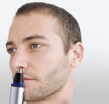 Panasonic-ER-GN30-K-Nose-Ear-n-Facial-Hair-Trimmer-WetDry-with-Vortex-Cleaning-System