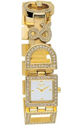 Dolce  &  Gabbana 3729250329 Women's Analog Quartz Watch with Yellow Stainless Steel Bracelet
