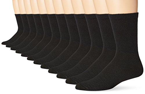 hanes-mens-12-pack-freshiq-crew-socks-black-10-13-shoe-size-6-12