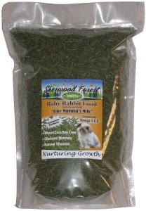 Sherwood Forest 'Nurturing Growth' Baby Rabbit Food - 4.5 lb. resealable bag