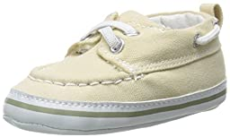 Luvable Friends Boy\'s Slip-on Shoe (Infant), Beige, 12-18 Months M US Infant