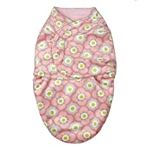 Blankets and Beyond Retro Mom Swaddle Blanket Pink