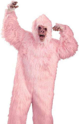 Deluxe Love Monkey Mascot Costume - Adult Std.