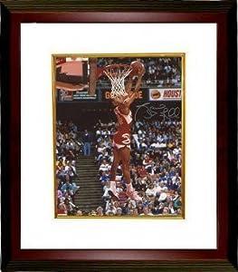 Spud Webb signed Atlanta Hawks 16x20 Photo Custom Framed (1986 Slam Dunk Champ...