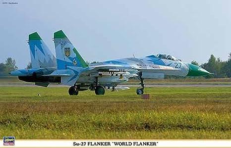 Maquette avion: Su-27 Flanker