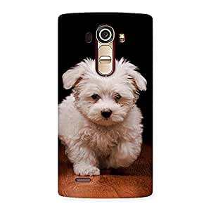 Enticing Cute Walking Dog Back Case Cover for LG G4