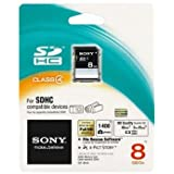 Sony 8GB SDHC Card - Class 4 - 15MBps