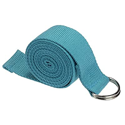 HandLife(TM) New Yoga Stretch Strap D-Ring-Gurt-Taillen Leg Fitness 180CM Einstellbar