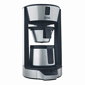 BUNN HT Phase Brew 8-Cup Thermal Carafe Home Coffee Brewer