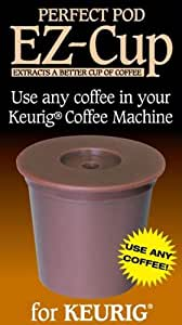 1 X EZ-Cup for Keurig Coffee Machines By Perfect Pod