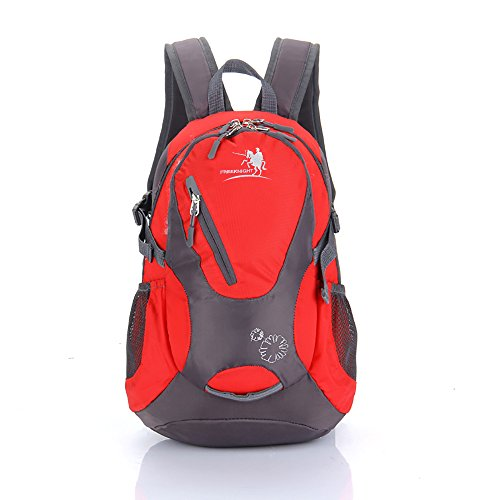Cycling hiking backpack water-resistant daypack FKC0618 (Red)