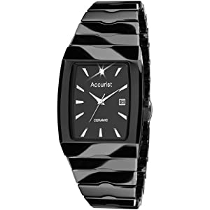 30d94238d Accurist Gents Black Ceramic Watch MB954B price as on 15/05/2019 14 ...