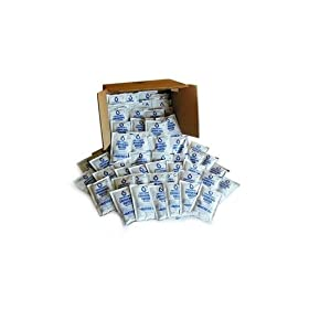 Datrex Emergency Water Pouches Case of 64 for Survival Kits, Disaster Supplies, 5 Year Shelf Life