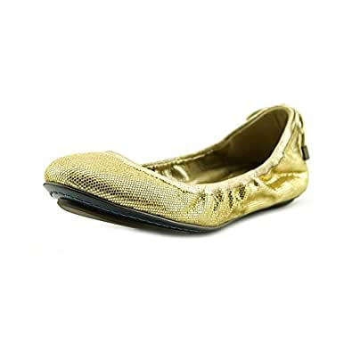 Cole Haan Bacara Women's flats & oxfords Plating Metalli Size 5 B