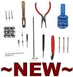 Wrist Watch Strap / Pin Repair Kit - 16 Tools