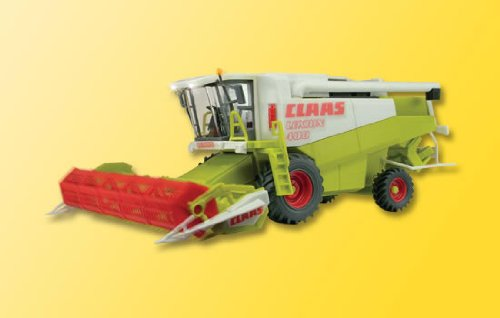 Farm Machinery W/Working Parts -- Claas Combine W/Spinning Small Grain Head & Working Led Lights