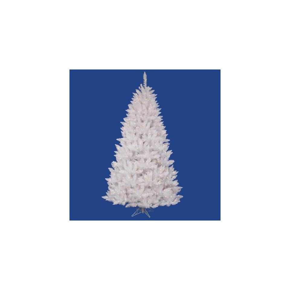 Vickerman 5.5 Foot Crystal White Spruce DuraLit Christmas Tree