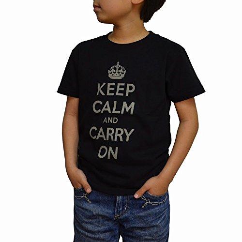 (スワットオリジナル) SWAT ORIGINAL Kids ミリタリーTシャツ KEEP CALM and CARRY ON