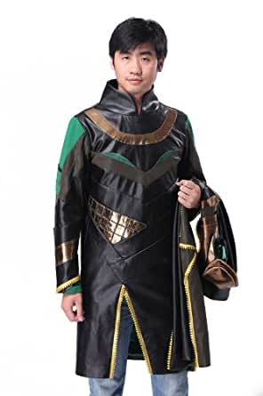 Halloween Men's Evil Villain Cosplay Jacket Outfits Costume