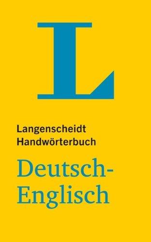 Langenscheidt Handwörterbuch: Deutsch-Englisch (Langenscheidt Handwörterbücher)