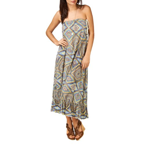 Quiksilver Womens Islet Watercolor Maxi Dress - Islet Watercolo picture