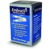 Omnis Embrace Test Strips Bundle Deal Savings 200 Ct (4 Boxes of 50ct = 200ct Total)