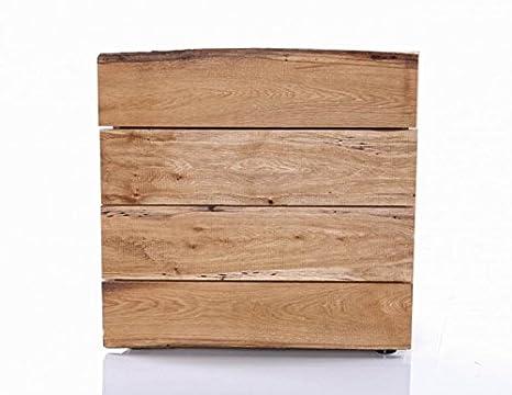 Schubkasten-Kommode Woodline Eiche massiv geölt von Skalik