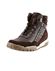 Bacca Bucci Men 8300 Brown Synthetic Boots