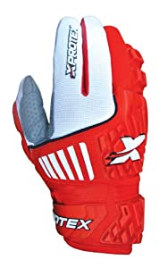 Xprotex Adult RAYKR 2014 Protective Batting Gloves, Red, Medium by Xprotex