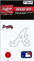 Rawlings Sporting Goods MLBDC Decal Kit, Atlanta Braves