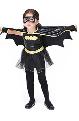 Lover-baby® Rubies Batgirl Tutu Child Girl's Halloween Costume